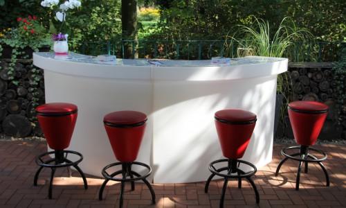 Gartenhaus LED Bar außen