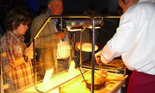 Getec Arena Show Küche