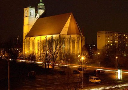 Johanniskirche nachts