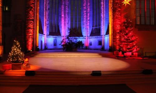 Bühne Johanniskirche