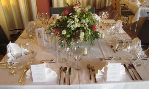 Gesellschaftshaus Hochzeitstisch