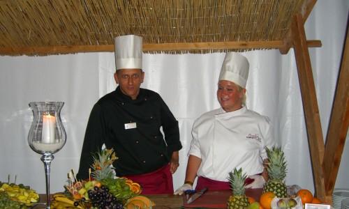 Getec Arena Küche