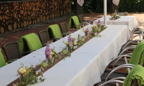 Gartenhaus Hochzeit