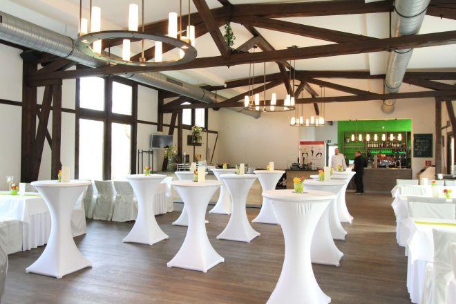 Gartenhaus Firmenfeier Magdeburg