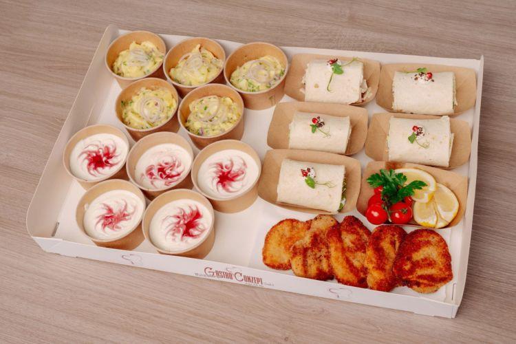 Snack Box Rustikal 2 (20 Teile)