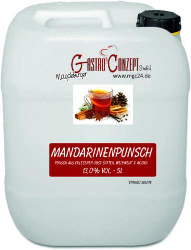 Mandarinenpunsch (5 l)