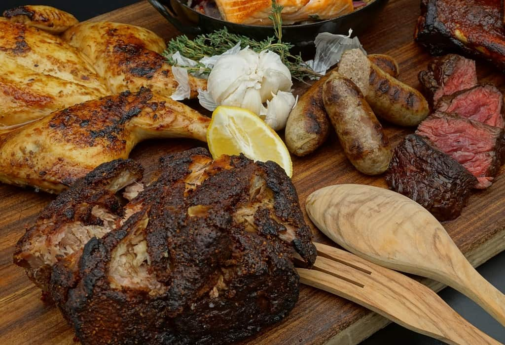 Grillbox BBQ 2- Pulled Pork/Hanging Tender