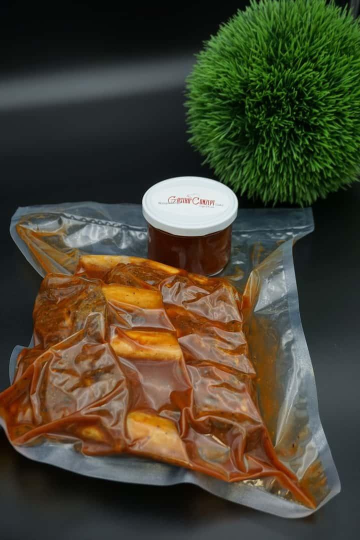 Grillbox BBQ 1 – Beefribs/Lachs
